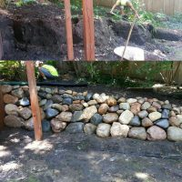 Bobcat Services Land Clearing/ Grading/ Leveling /Small Demo/ Landscape/Boulders